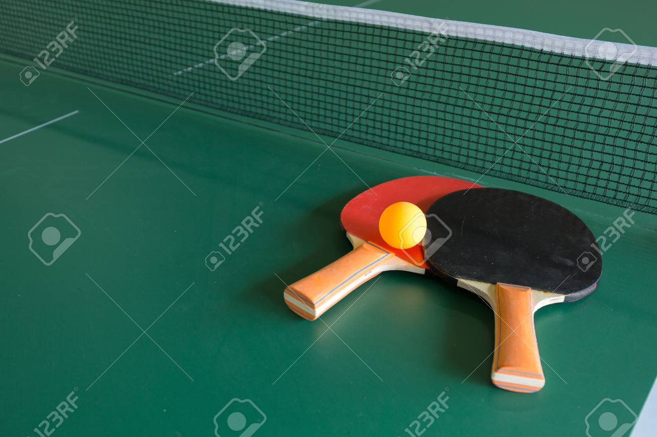 Raquette balle tennis de table