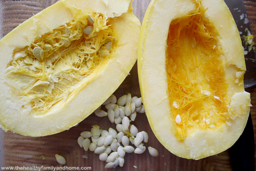 How to make spaghetti squash pasta