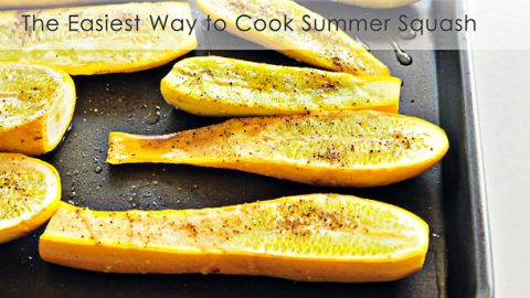 Summer squash recipes