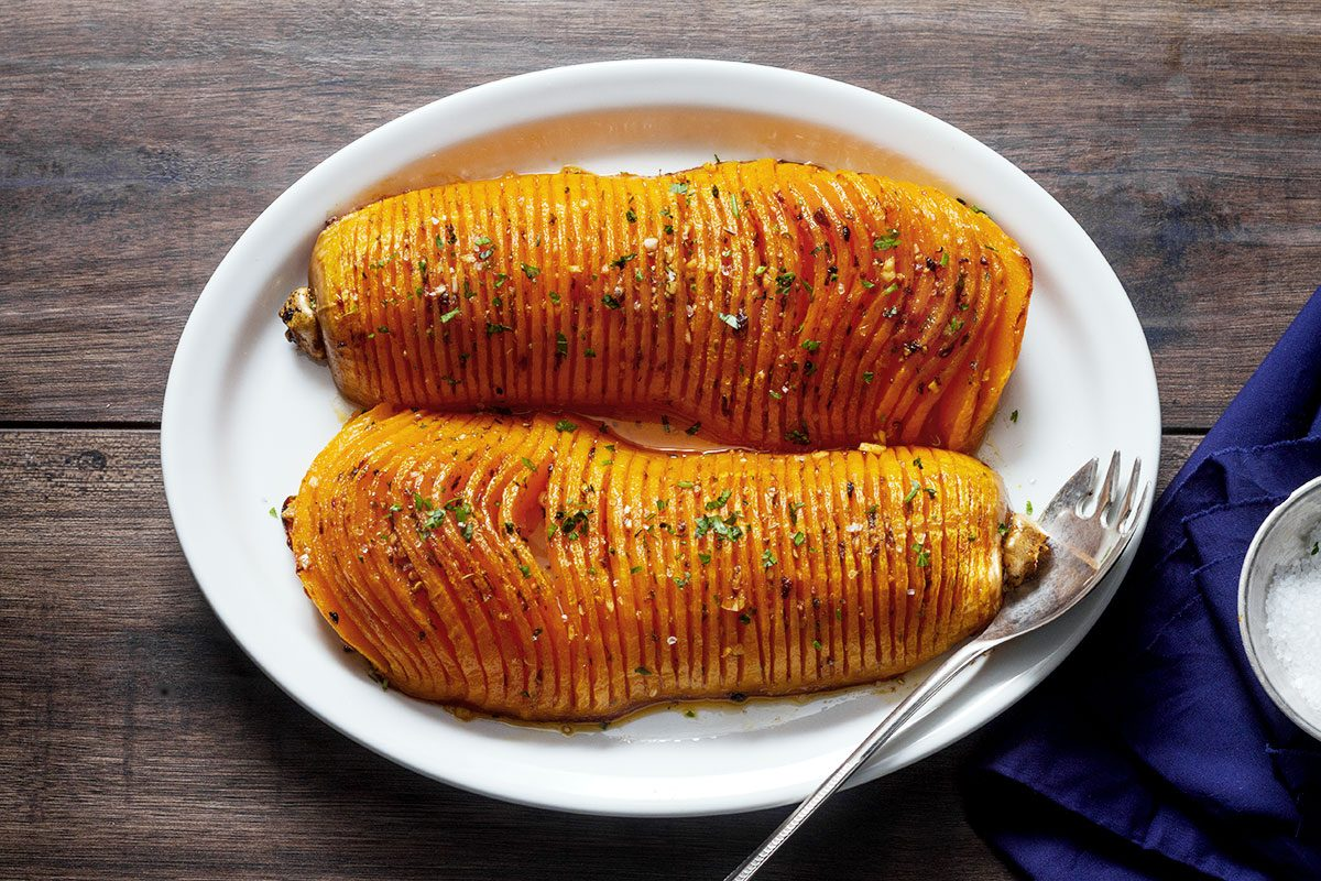 Oven roasted squash recipe
