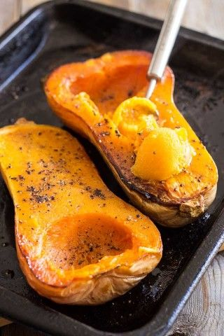 How to cook butternut squash in oven