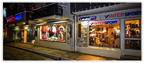 Intersport location raquette
