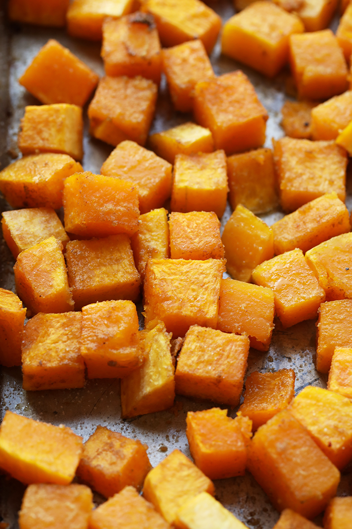 How long does butternut squash take to roast