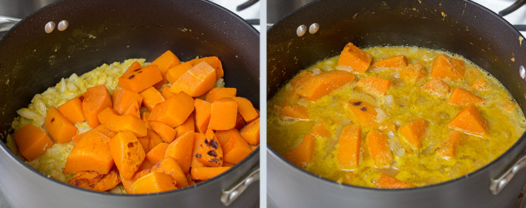 Gw2 bowl of sweet and spicy butternut squash soup recipe