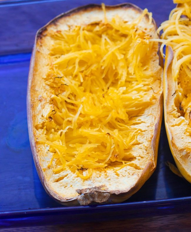 How long to cook spaghetti squash