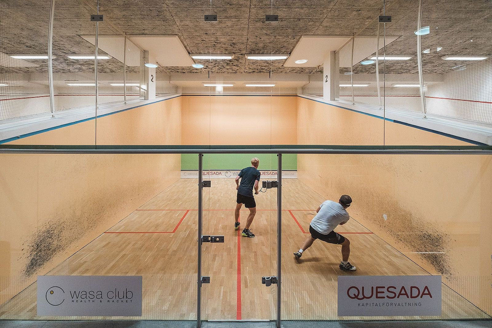 Squash club med gym